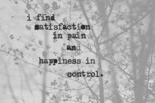 satisfaction versus pain