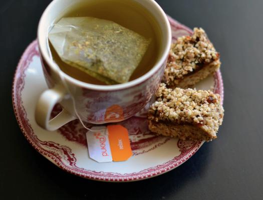 raw bites and tea